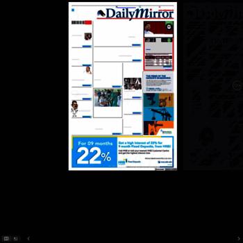 Dailymirrorepaper.newspaperdirect.com thumbnail