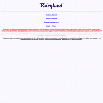 dairylandagents - Official Login Page 100% Verified