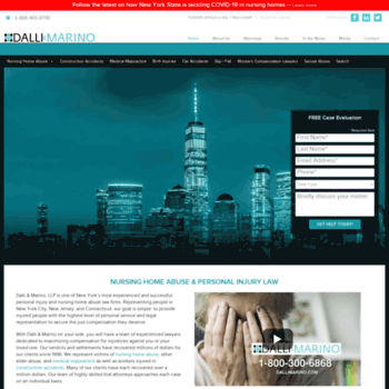 dallimarino com at WI  Dalli & Marino LLP | Personal Injury Law Firm