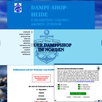 Dampf-shop-heide.de thumbnail
