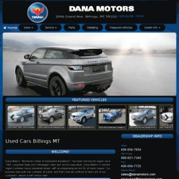 Car Dealerships Billings Mt >> Danamotors Com At Wi Used Cars For Sale Car Dealers In