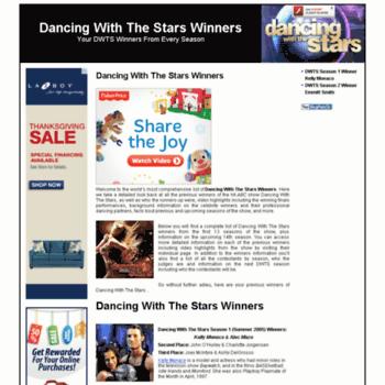 Dancingwiththestarswinners.org thumbnail