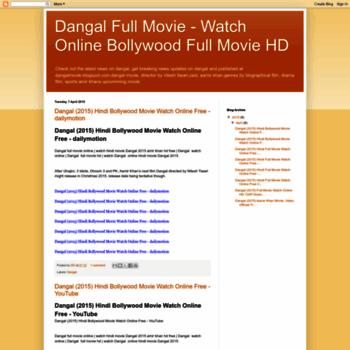 Dangal Full Movie Watch Online