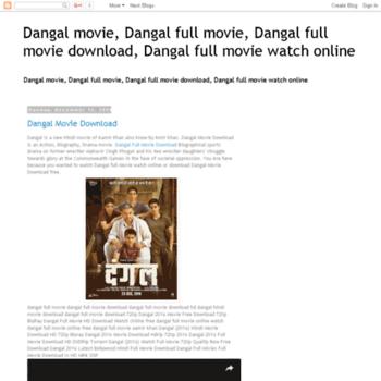Dangalmoviedownload At Wi Dangal Movie Dangal Full Movie Dangal