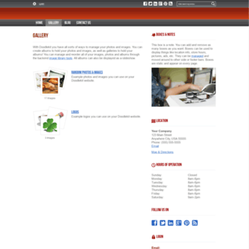 Веб сайт danieltao.doodlekit.com