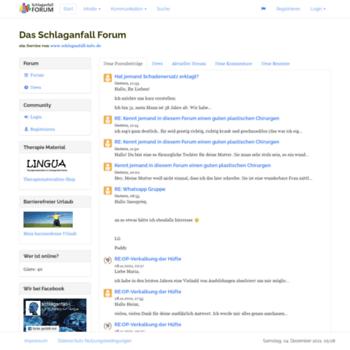 Das-schlaganfall-forum.de thumbnail