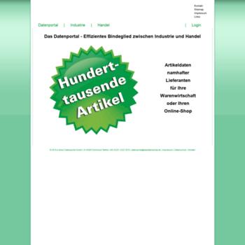 Dasdatenportal.de thumbnail