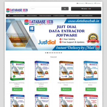 databasehub in at WI  All India Email Database, Worldwide