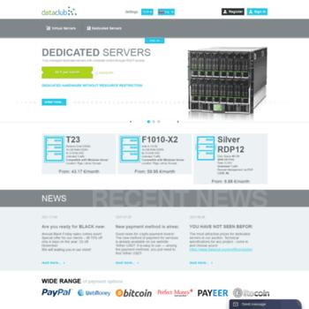 dataclub eu at WI  Hosting - DATACLUB - Dedicated and Virtual servers