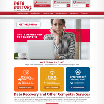 Datadoctors.com thumbnail