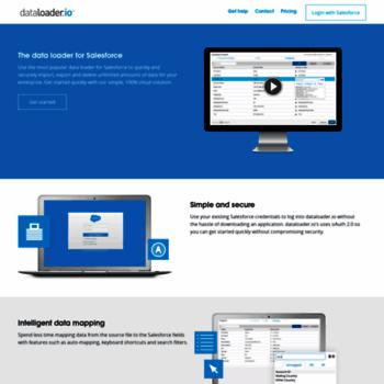 dataloader io at WI  Salesforce dataloader | Import & Export