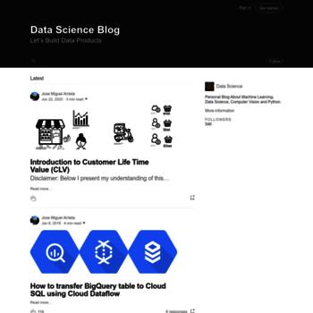 Datascience.com.co thumbnail