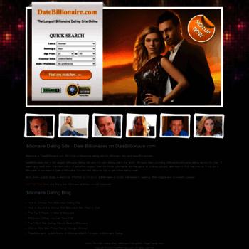 Billionaire dating sites