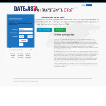 Dateinasia login