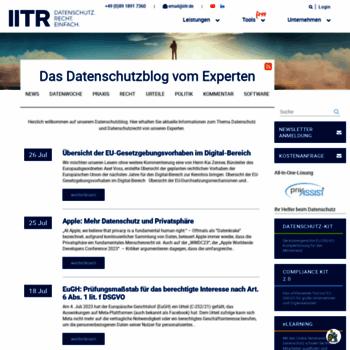 Datenschutzbeauftragter-online.de thumbnail