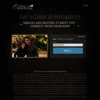 find a date in bangalore