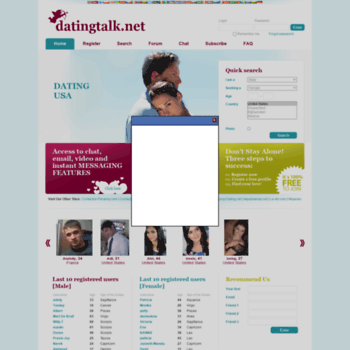 Datingtalk.net thumbnail