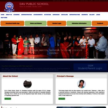 Dav14faridabad.ac.in thumbnail