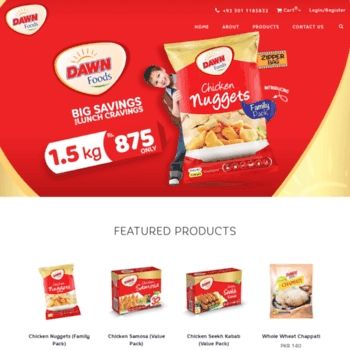 dawnfrozenfoods com at WI  Dawn Foods