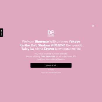 Dbcosmetics.com.au thumbnail