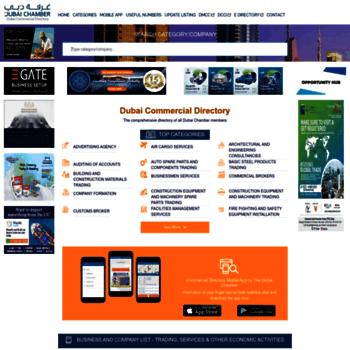 dcciinfo com at WI  Dubai Commercial Directory | DCCIINFO ae