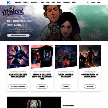 Dccomics.com thumbnail