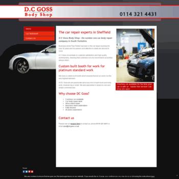 Dcgoss.co.uk thumbnail