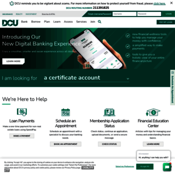 Dcu Car Loan >> Dcu Org At Wi Dcu Personal Business Banking