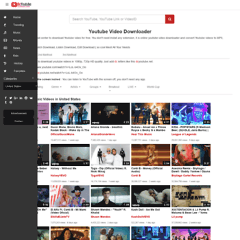 dcyoutube com at WI  Download Youtube Videos & Convert Youtube to MP3
