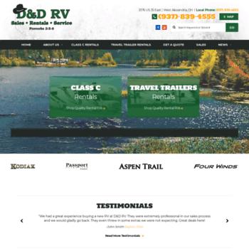Ddrvrentals Com At Wi D D Rv Rentals Motorhome And Travel
