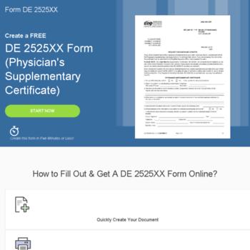 De 2525xx Form Com At Wi De 2525xx Supplementary Certificate