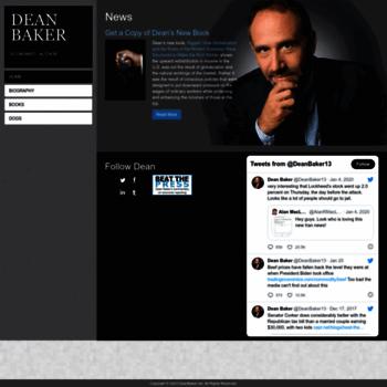 Deanbaker.net thumbnail