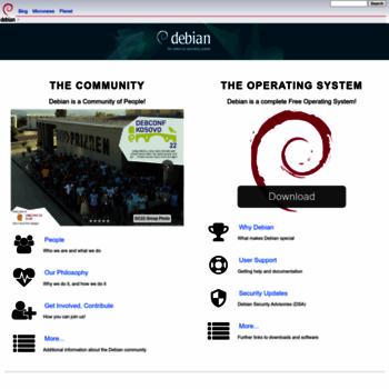 Debian.net thumbnail