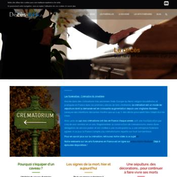 Deces-info.fr thumbnail