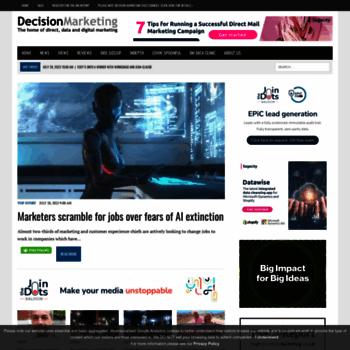Decisionmarketing.co.uk thumbnail