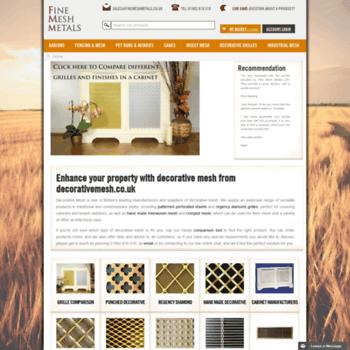 Decorativemesh.co.uk thumbnail