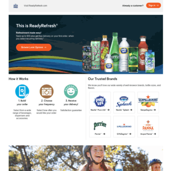deerparkdelivery com at WI  Water and Beverage Delivery