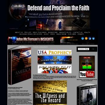 Defendproclaimthefaith.org thumbnail