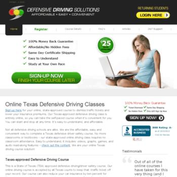 Defensive Driving San Antonio >> Defensivedrivingsolutions Com At Wi Defensive Driving San