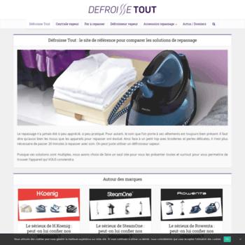 Defroissetout.fr thumbnail