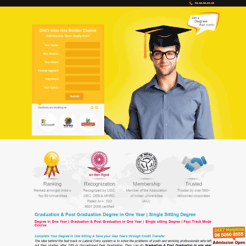 Degree-in-one-year.com thumbnail