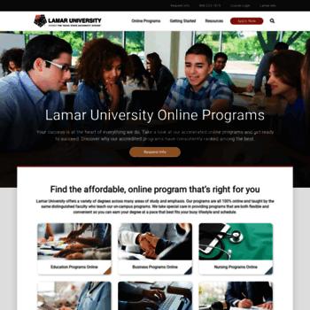 Degree.lamar.edu thumbnail