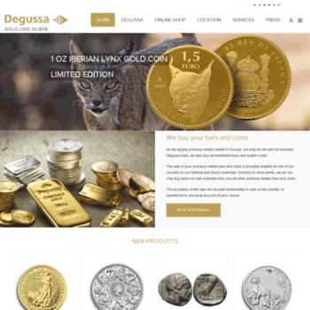 Degussa-goldhandel.ch thumbnail