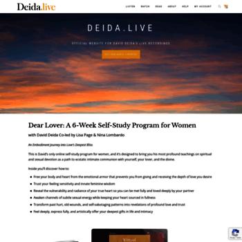 Deida.live thumbnail