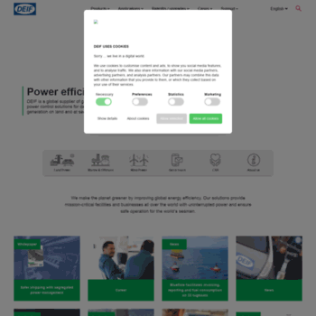 deif com at WI  Power efficiency | DEIF