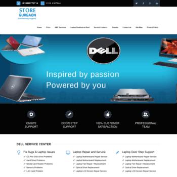 Delllaptopservicecentergurgaon.in thumbnail