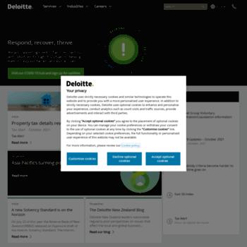 Deloitte.co.nz thumbnail