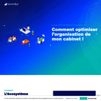 dematbox com at WI  Official website | Sagemcom
