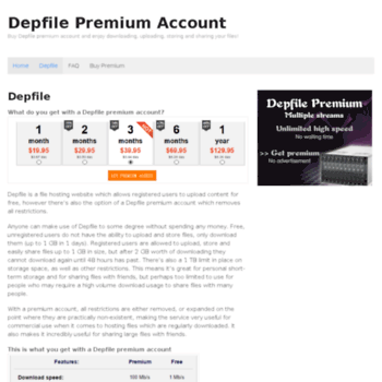 Depfile premium login  how to download depfile links
