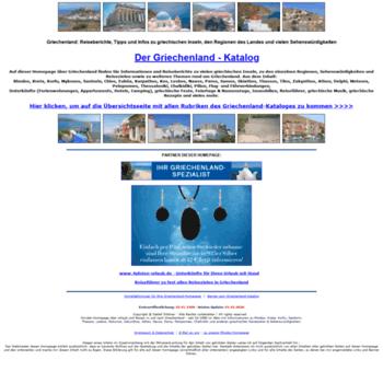 Der-griechenland-katalog.de thumbnail